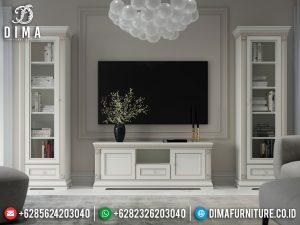 Model Bufet TV Minimalis Modern New Design White Duco Elegant Color MM-0779
