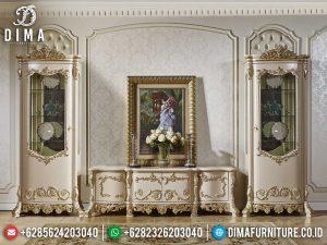 New Bufet TV Mewah Ukiran Jepara Elegant Luxury Design Best Quality Item MM-0773