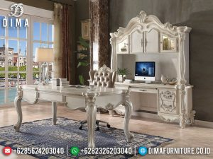 Set Meja Kantor Direktur Mewah Art Deco Luxury Great Furniture MM-0806