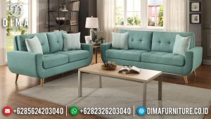 Sofa Tamu Minimalis Jepara Natural Jati Retro Classic High Quality Item MM-0769
