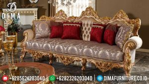 Adorable Design Sofa 3 Dudukan Ukiran Classic Luxury Furniture Jepara Termewah MM-0968