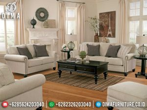 Beli Sofa Tamu Minimalis Classic Retro Luxury Furniture Jepara Murah Meriah MM-0927