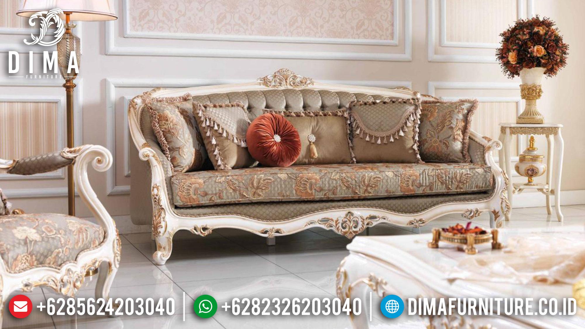 Big Sale Sofa 3 Dudukan Mewah Classic Luxury Mebel Jepara Termewah Mm-0985