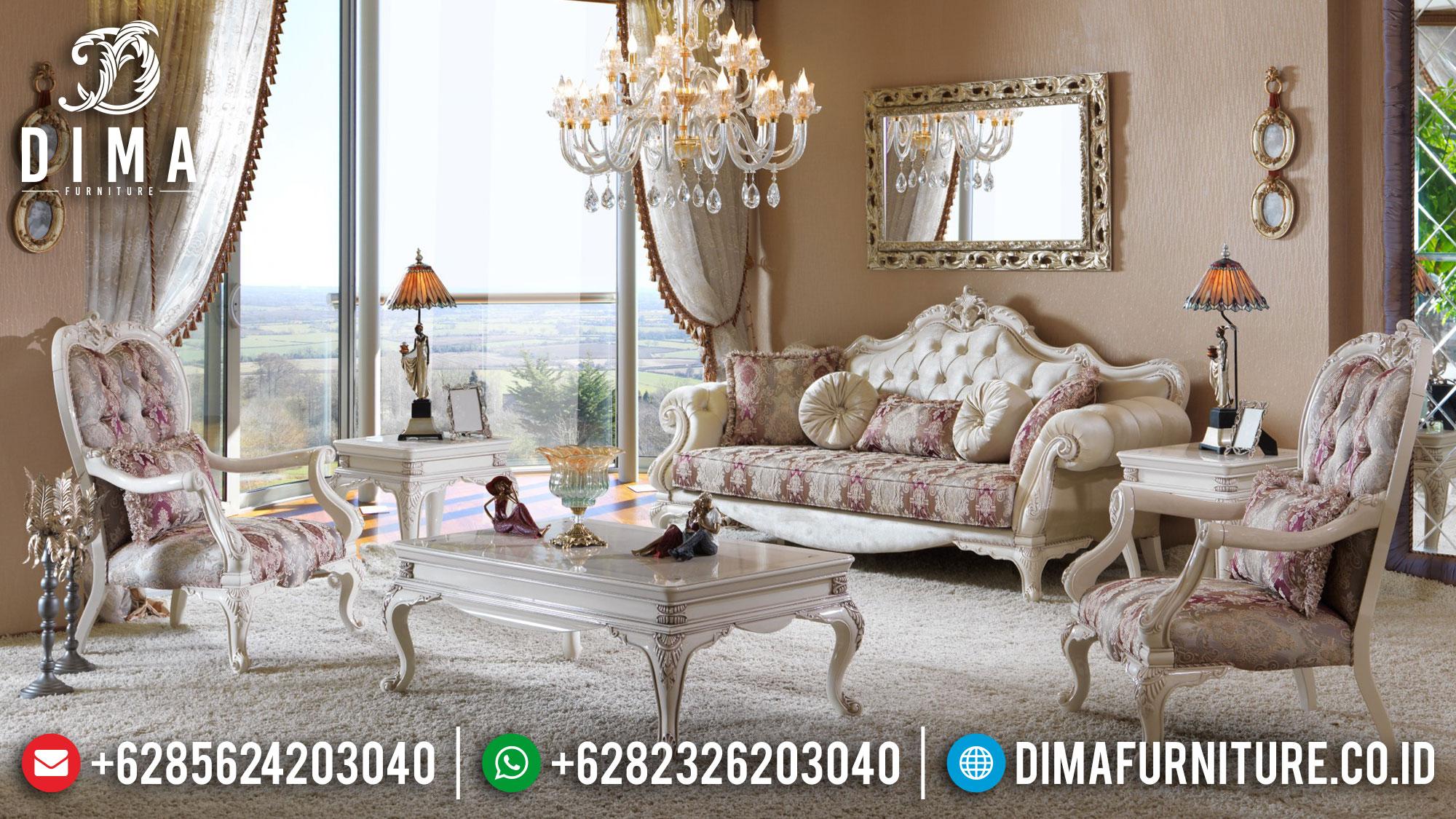 Big Sale Sofa Tamu Mewah Luxury Classic Furniture Jepara Terbaru Mm-0914