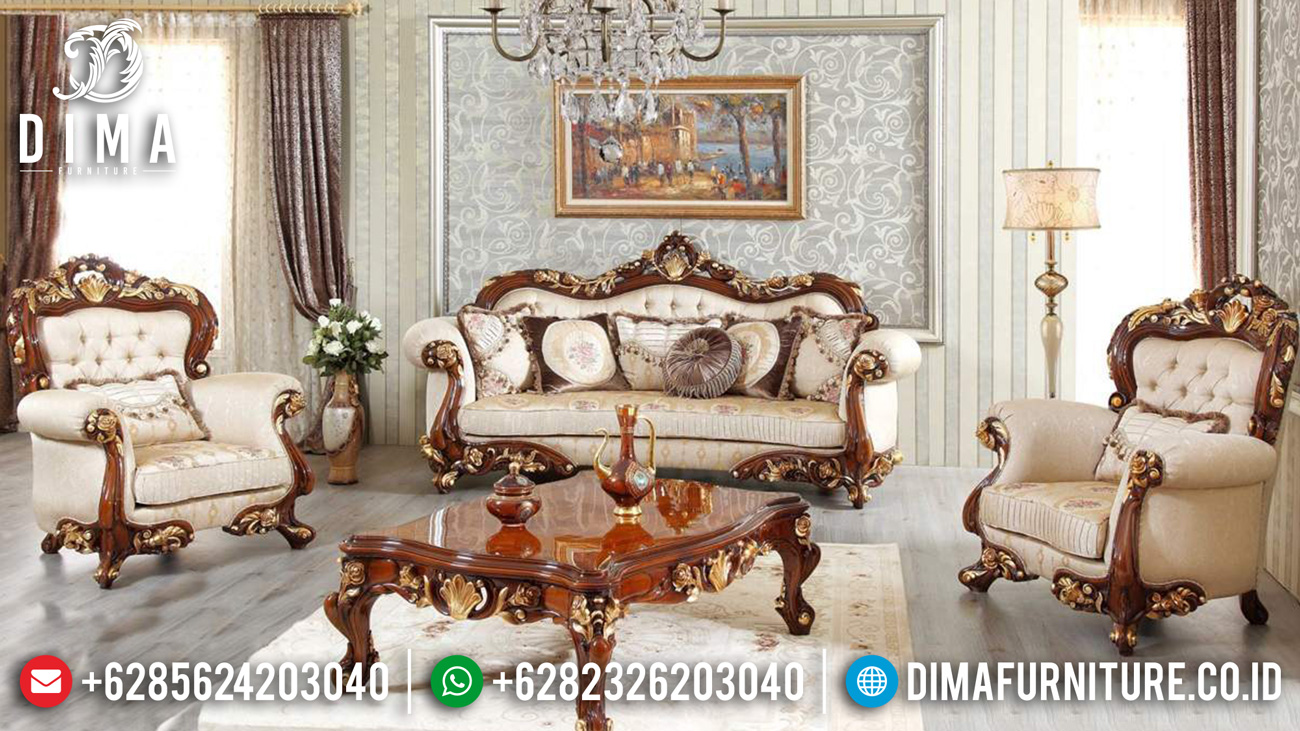 Buy Now Sofa Tamu Mewah Terbaru Premiere Design Palace Luxury Classic Mm-0984