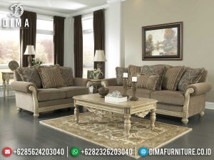 Desain Sofa Tamu Mewah Jepara Luxurious New Living Room Set MM-0900