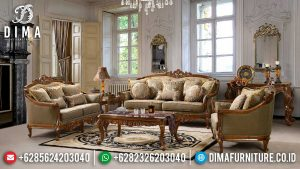 Exclusive Set Sofa Tamu Mewah Terbaru Luxury Design Classic Furniture Jepara MM-0915