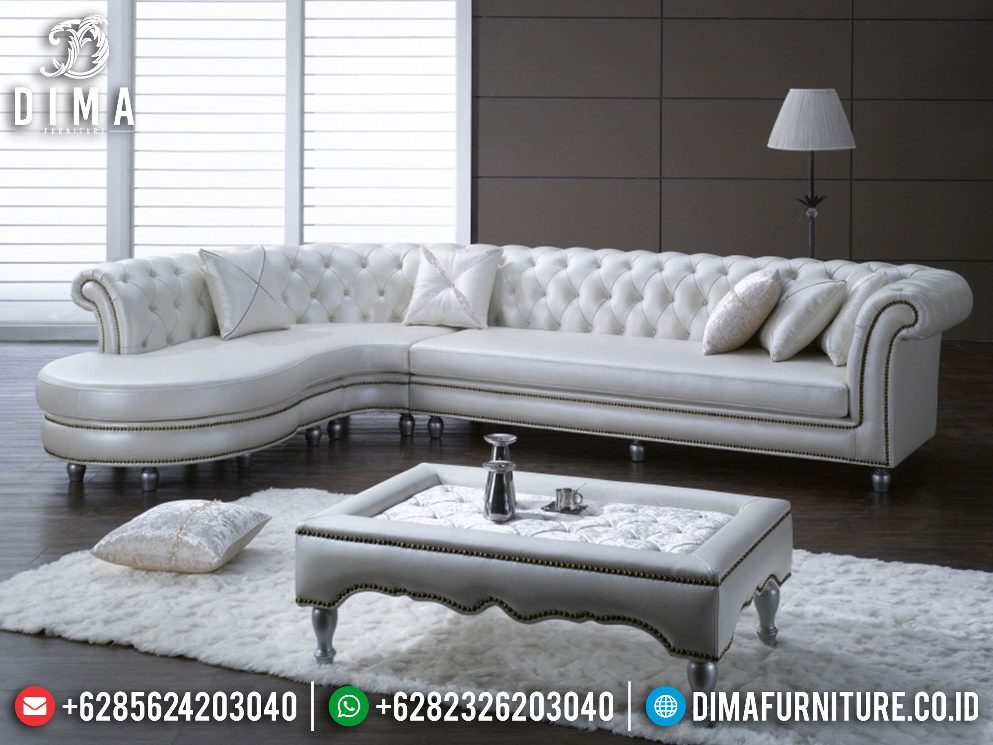 Furniture Jepara Sofa Tamu Minimalis Jepara Luxury Simple Model Terbaru Mm-0886