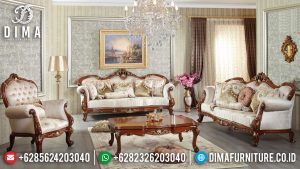 Glorious Set Sofa Tamu Mewah Jepara Luxury Model Furniture Jepara Terbaru MM-0916