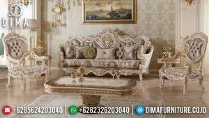 Harga Sofa Tamu Jepara Terbaru Elegant Deluxe Sets Luxury Furniture Classic MM-0956