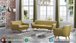 Harga Sofa Tamu Minimalis Natural Jati Perhutani Great Solid Wood Jepara MM-0971