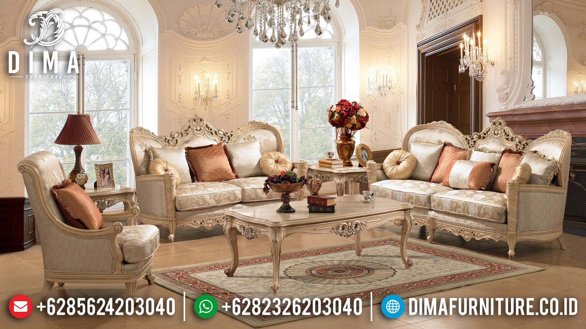 Jual Sofa Tamu Mewah Ukir Jepara High Quality Comfortable Design Mm-0913