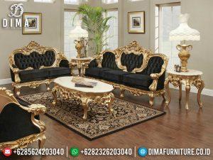 Jual Sofa Tamu Mewah Ukir Jepara Terbaru Golden Duco Color Glossy MM-0910