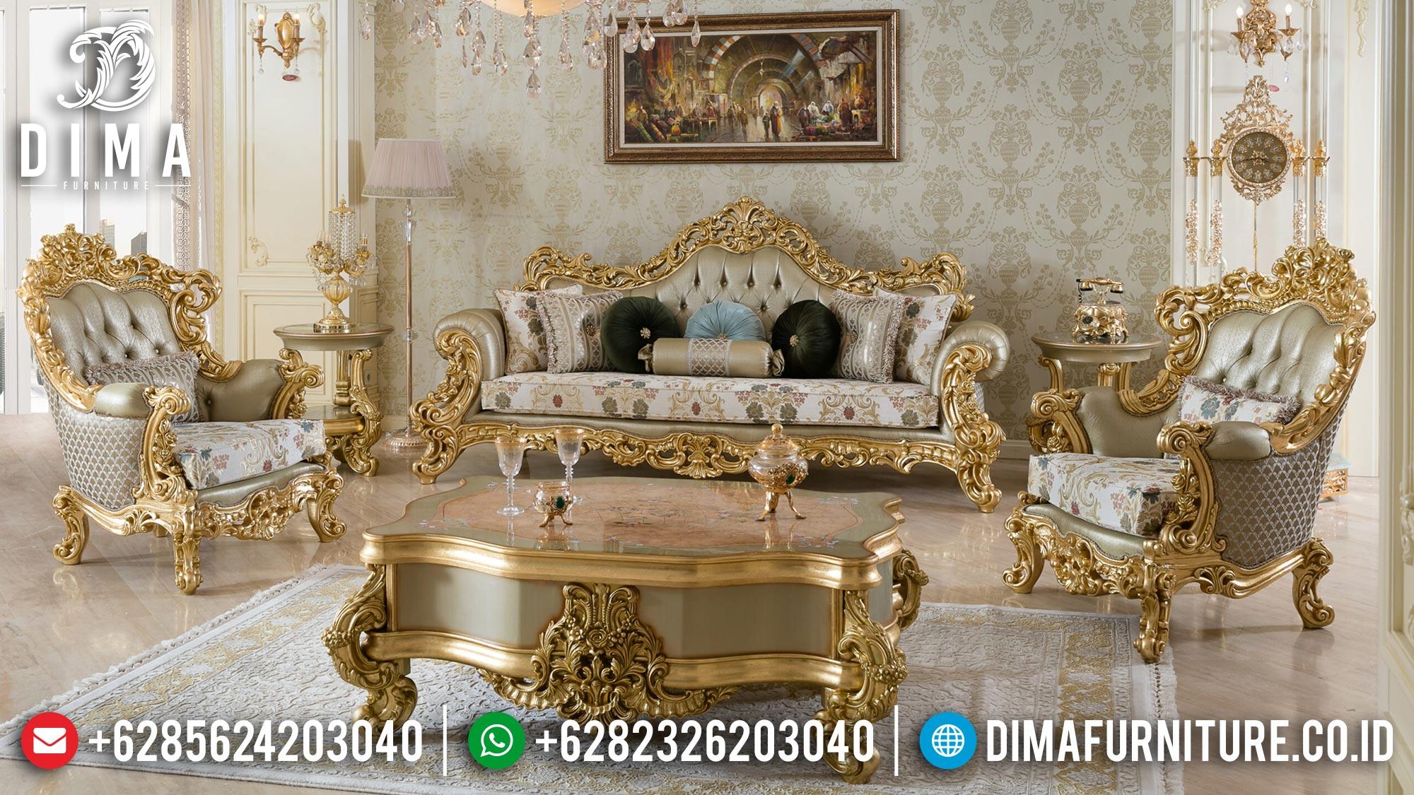 Jual Sofa Tamu Mewah Ukir Luxury Carving Palace Style Mebel Jepara Mm-0954
