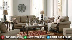 Jual Sofa Tamu Minimalis Terbaru Luxury Design Simple Carving MM-0945