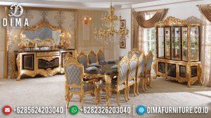 Meja Makan Mewah Terbaru Classic Luxury Carving Victorian Design MM-0999