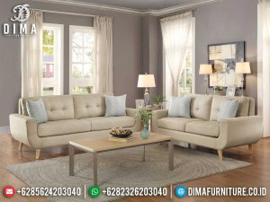 New Set Sofa Tamu Minimalis Vintage Scandinavian Simple Classic Design MM-0884