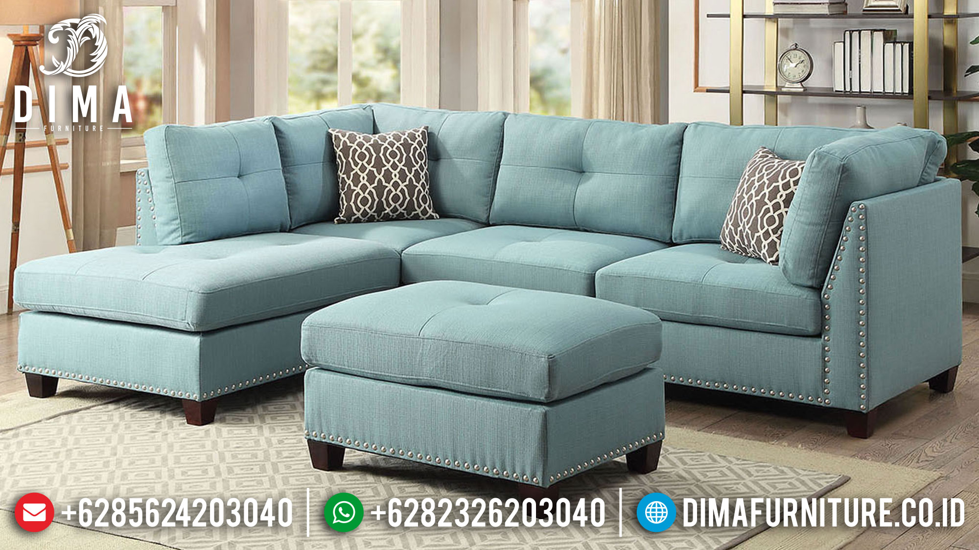 New Sofa Tamu Minimalis Jepara Classic Simple Design Furniture Jepara Luxury Mm-0894