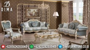 Set Sofa Tamu Mewah Adelia Style Luxury Elegant Classic Furniture Jepara MM-0950