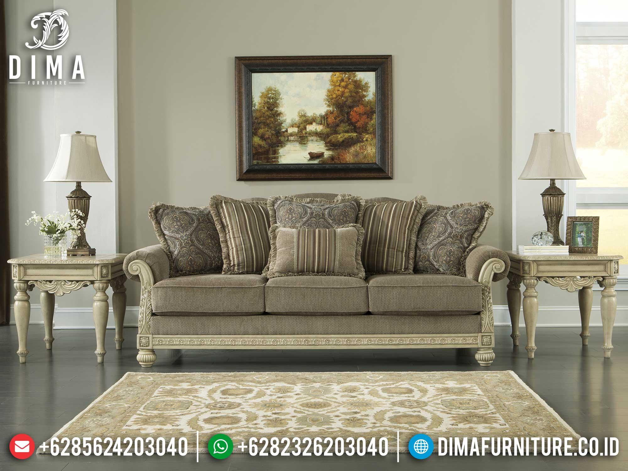 Sofa 3 Dudukan Mewah Classic Luxurious Premiere Design Furniture Jepara Mm-0937