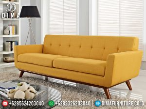 Sofa Tamu 3 Dudukan Minimalis Simple Design Great Quality Item MM-0887