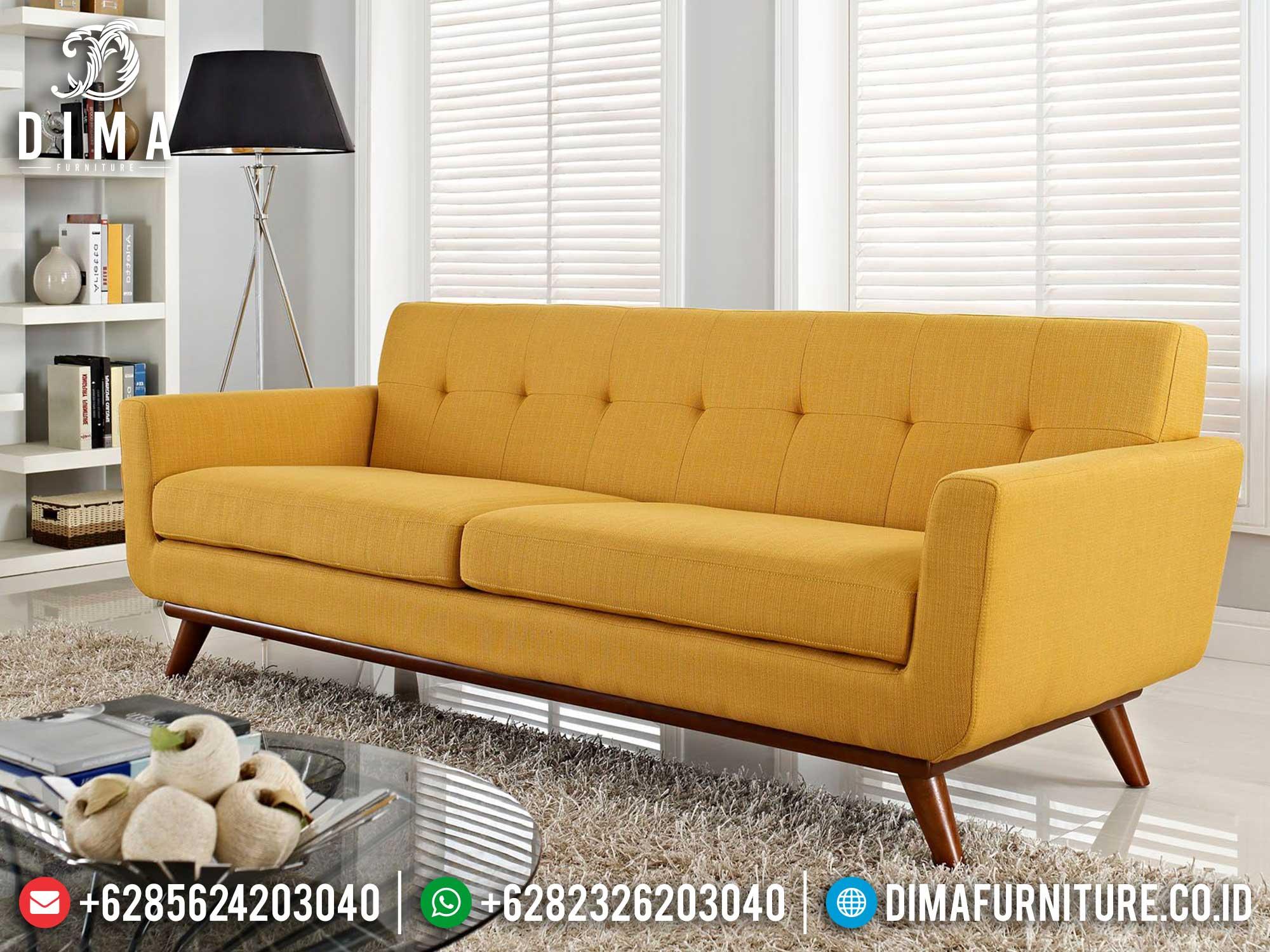 Sofa Tamu 3 Dudukan Minimalis Simple Design Great Quality Item Mm-0887
