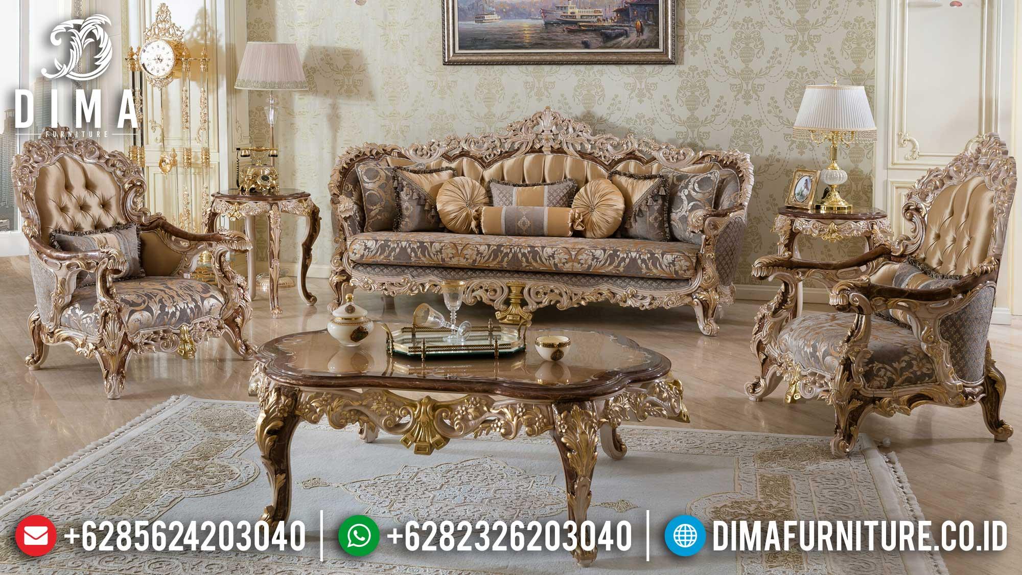 Sofa Tamu Jepara Best Design Luxury Carving Furniture Mewah Terbaru Mm-0955