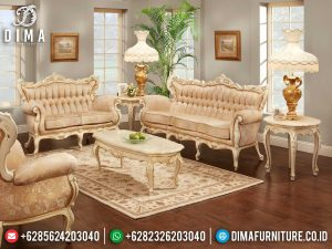 Sofa Tamu Jepara Terbaru Caroline Style Luxury Furniture Jepara MM-0907