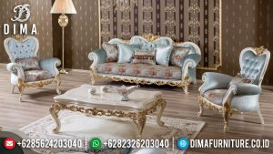 Sofa Tamu Jepara Terbaru New Luxury Classic Design Furniture Jepara MM-0918