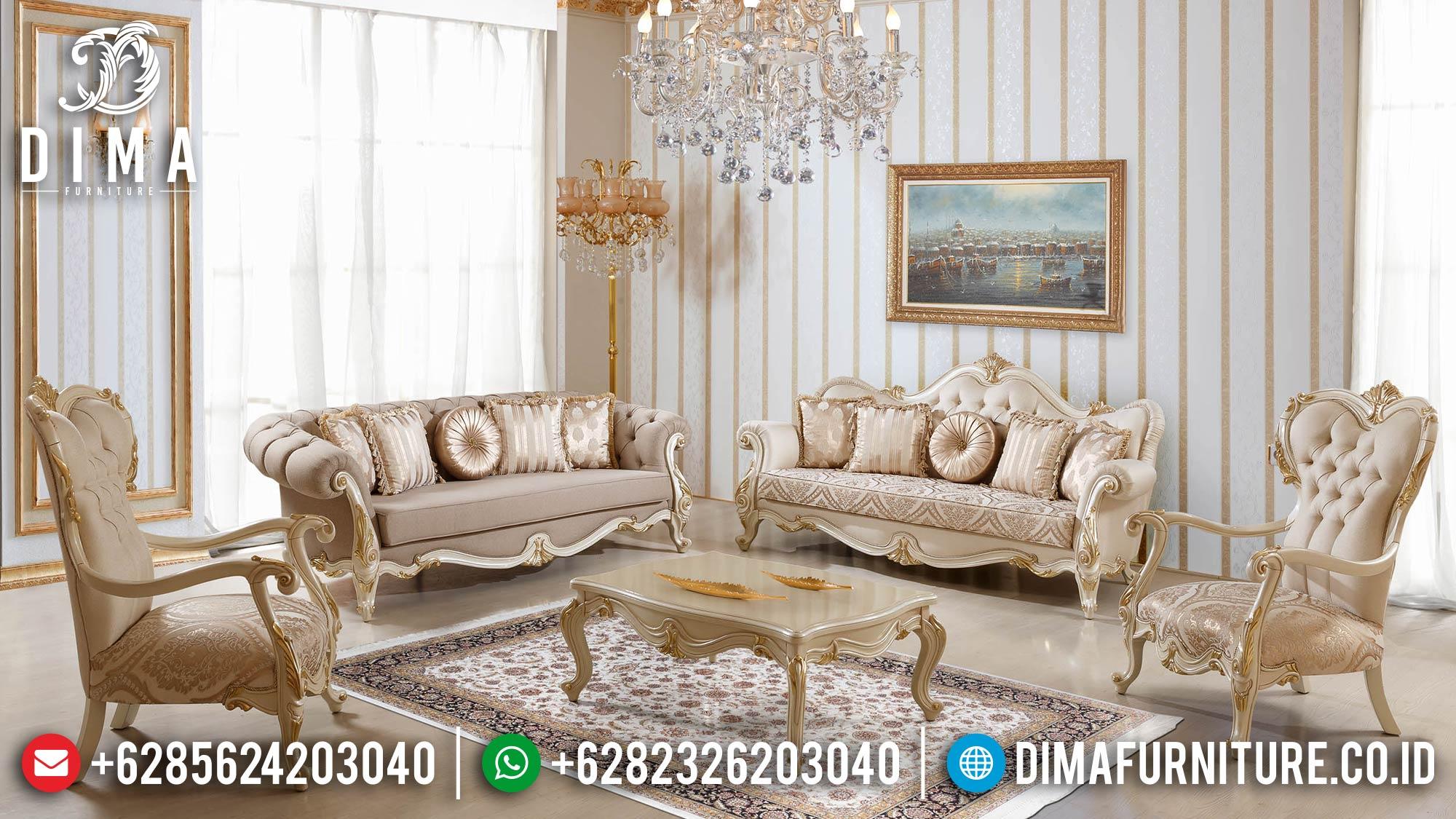 Sofa Tamu Mewah Classic Luxury Jepara Excellent Duco Color Terbaru Mm-0920