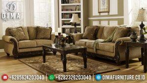 Sofa Tamu Mewah Jati Perhutani Luxury Classic Jepara Terbaru MM-0942