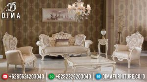Sofa Tamu Mewah Victoria Jepara Luxury Carving Classic High Quality MM-0911