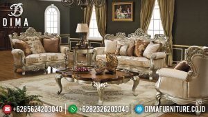Sofa Tamu Mewah Victorian Style Luxury Classic Italian Carving MM-0992