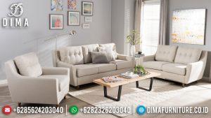 Sofa Tamu Minimalis Classic Luxury Design New Retro Vintage Furniture Jepara MM-0923