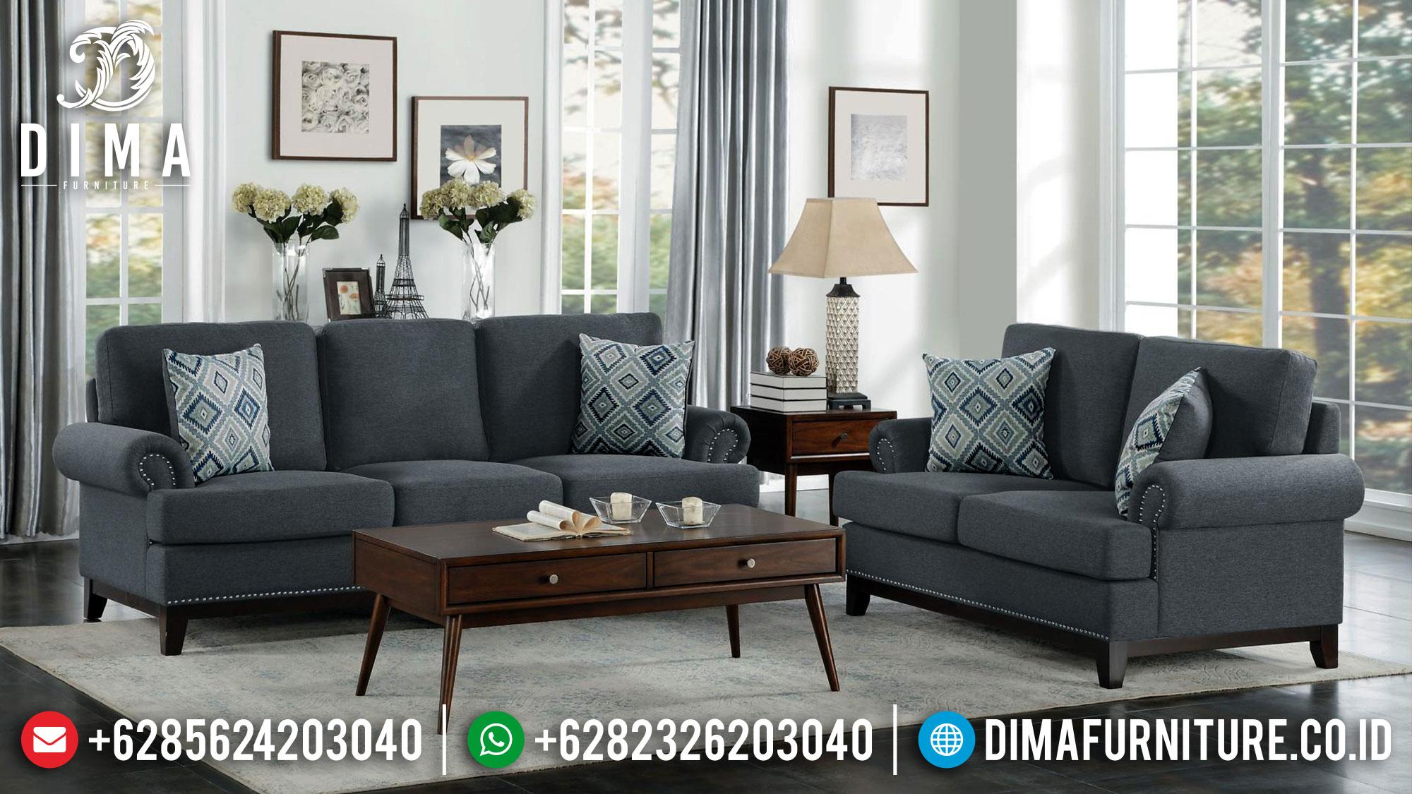 Sofa Tamu Minimalis Jati Jepara Luxurious Design Simple Mm-0943