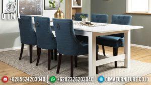 100 % Trusted Meja Makan Minimalis Terbaru Best Quality Furniture Jepara MM-1058