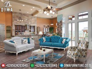 Beauty Design Sofa Tamu Jepara Luxury Shabby Classic Furniture Jepara MM-1082