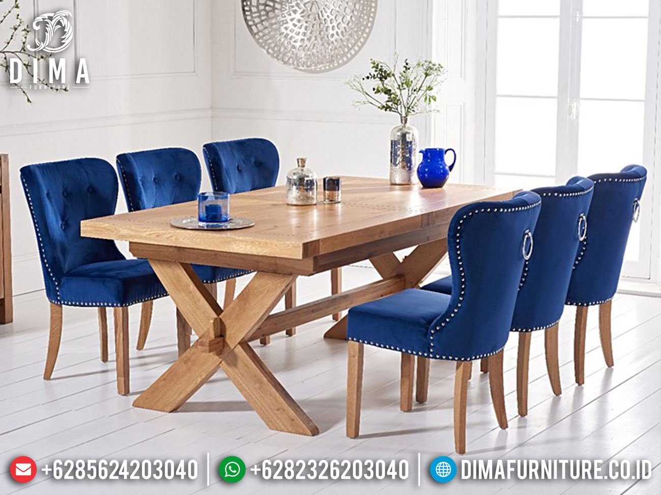Hilarious Style Meja Makan Minimalis Terbaru Furniture Jepara Luxury Classic Mm-1043