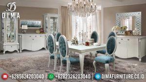 Jual Meja Makan Mewah Putih Duco Glossy Luxury New Best-Selling Item MM-1030