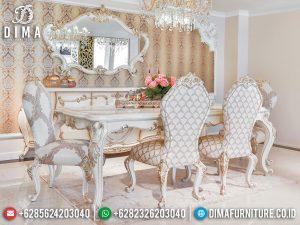 Meja Makan Mewah Jepara Terbaru Luxury Carving High Quality Item MM-1079