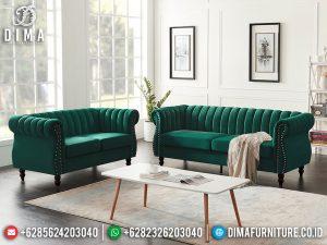 Promo Ramadan Sofa Tamu Minimalis Jati Natural Classic Color New Furniture Jepara MM-1084