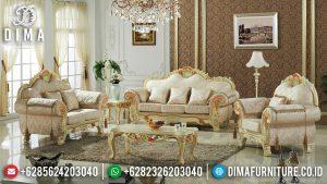 Sofa Tamu Mewah Terbaru Golden Duco Luxurious Color Great Glossy Top Coat MM-1060