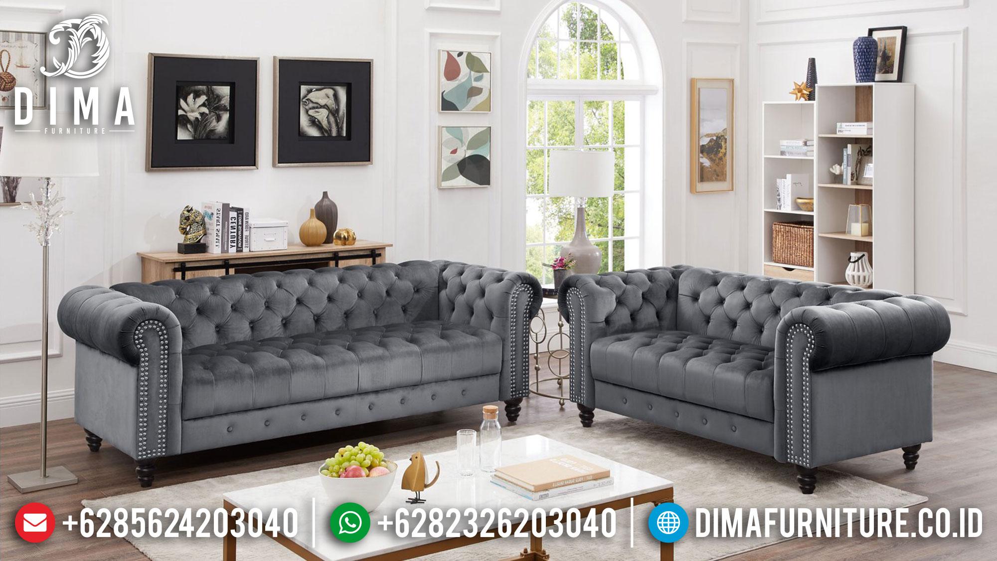 Sofa Tamu Minimalis Harga 2 Jutaan New Simple Classic Luxury Design Mm-1088