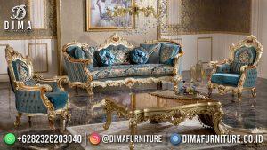 Diskon Sofa Tamu Mewah Jati Natural Beauty Carving MM-1109