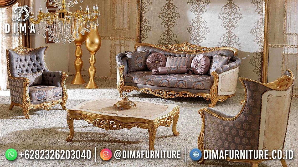 Good Quality Set Sofa Tamu Mewah Klasik Beauty Design Mm-1105