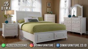Kamar Set Minimalis Duco White Charming Good Quality MM-1112