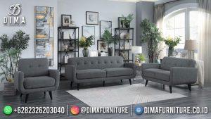 Kursi Sofa Minimalis Terbaru Jepara Stefanny Gray Mm-1116