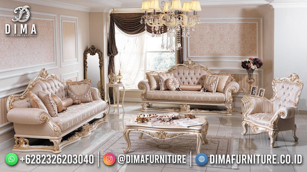 Luxcius Kursi Sofa Jepara Great Style Luxury Carving MM-1107