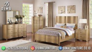 New Style Kamar Set Minimalis Beauty Soft Gold MM-1114