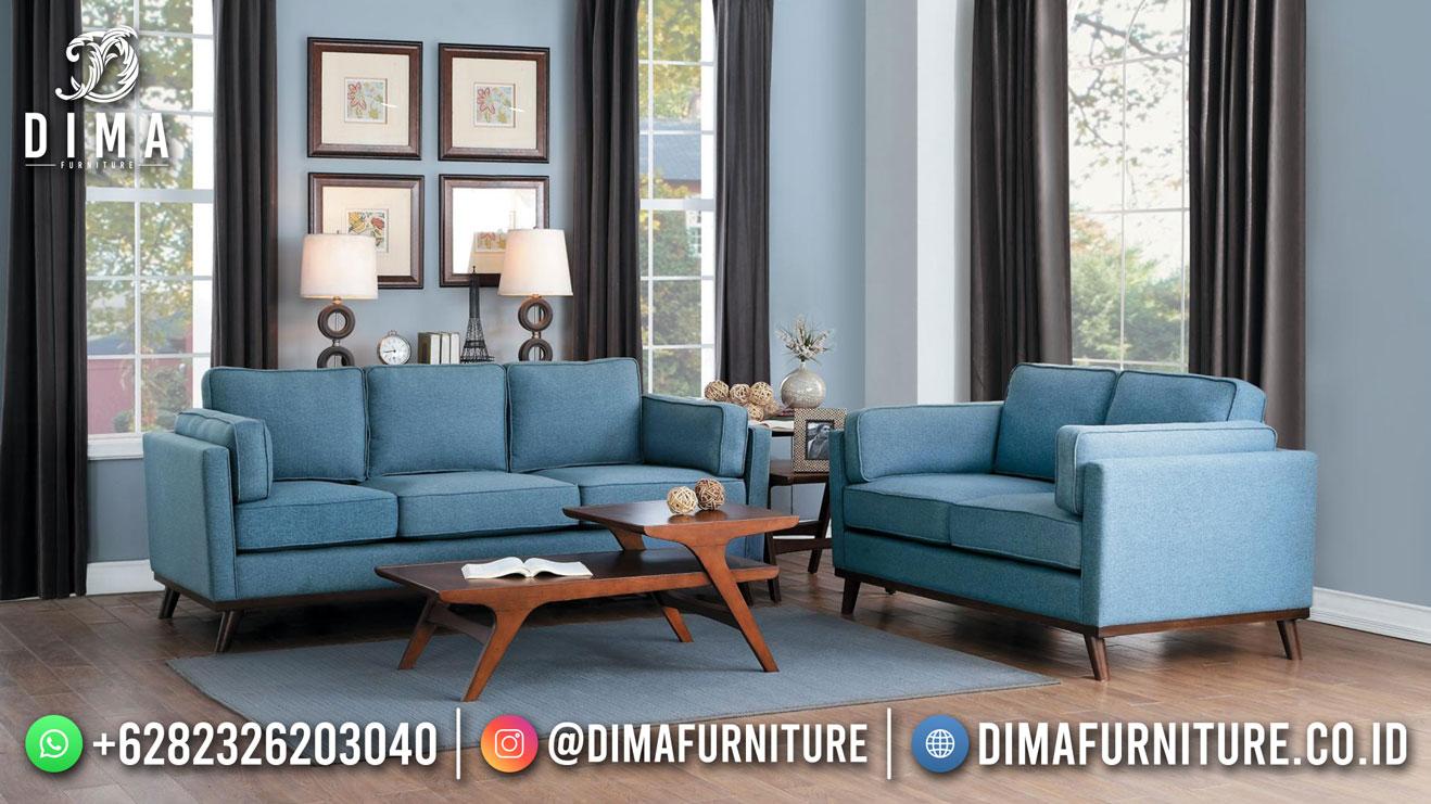 New Style Sofa Tamu Minimalis Blue Ocean Best Price MM-1115